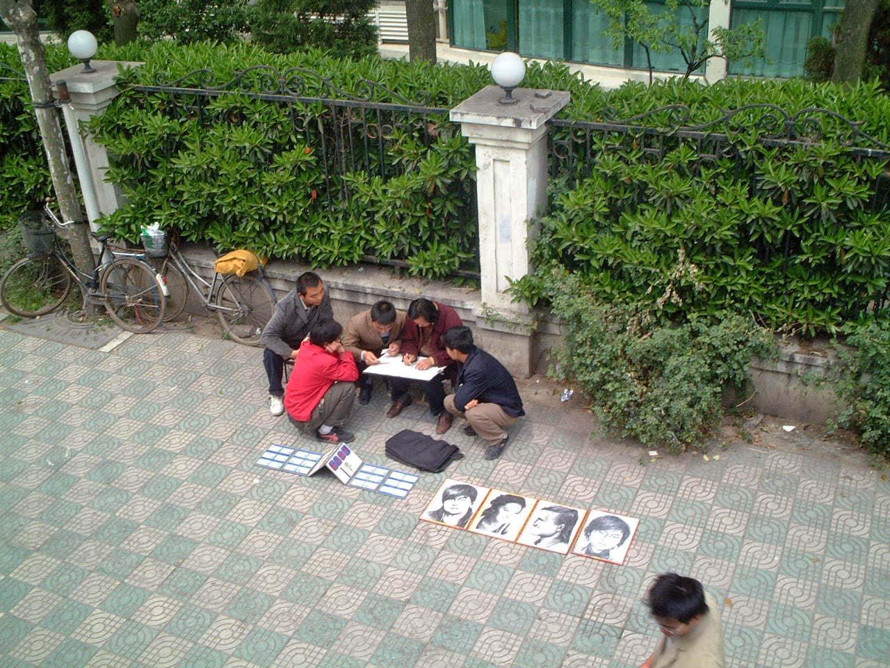 46上海の街角で