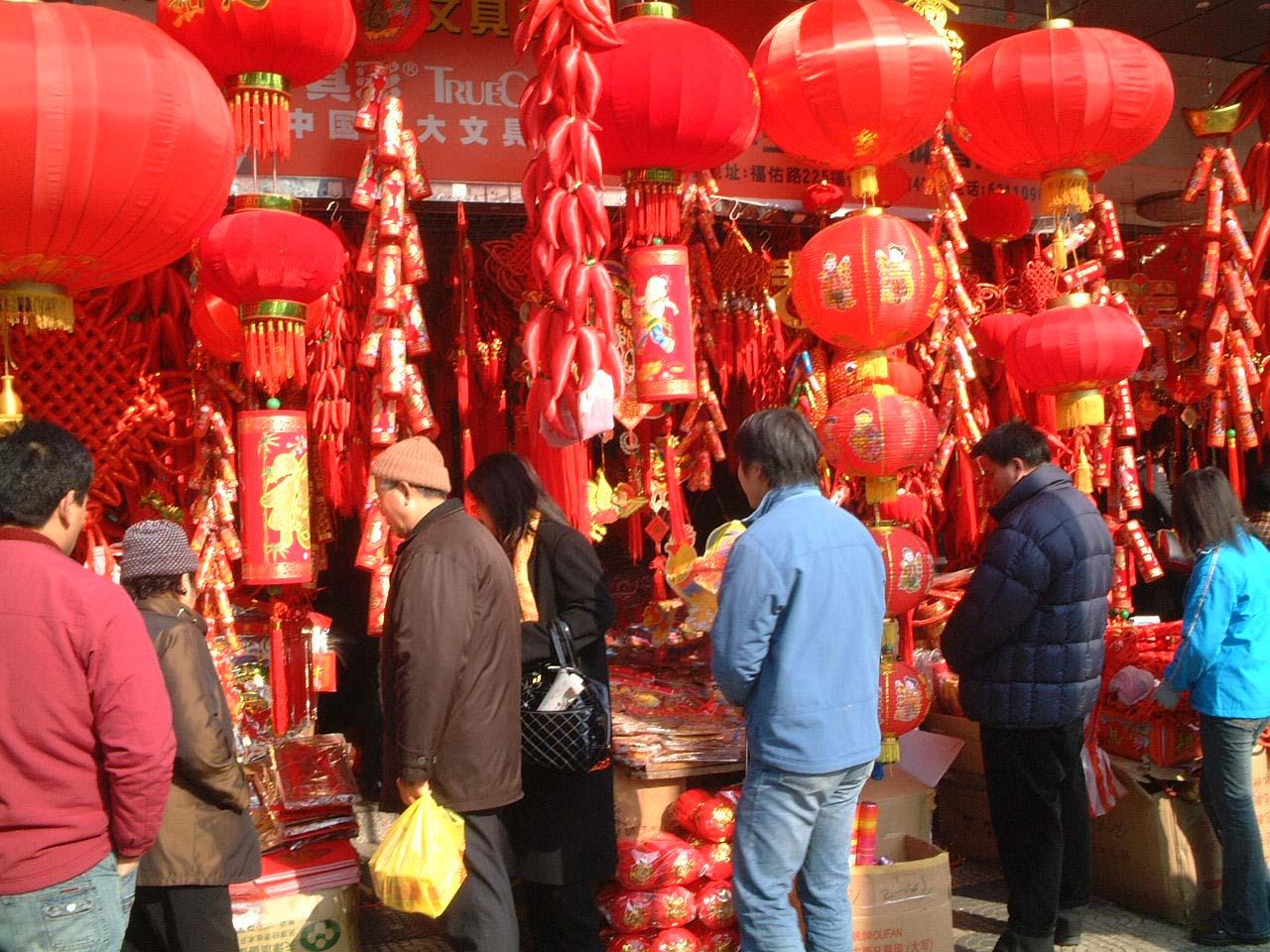 51春節を迎える上海