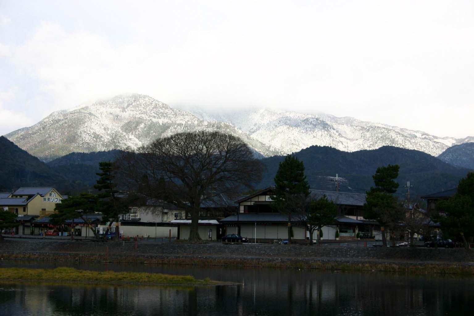 23嵐山の冬景色